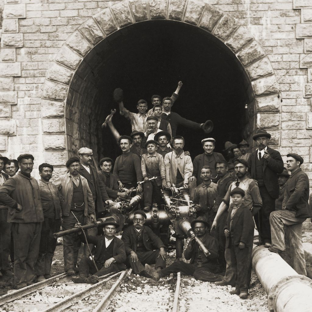 A regional lifeline: The Albula Tunnel -