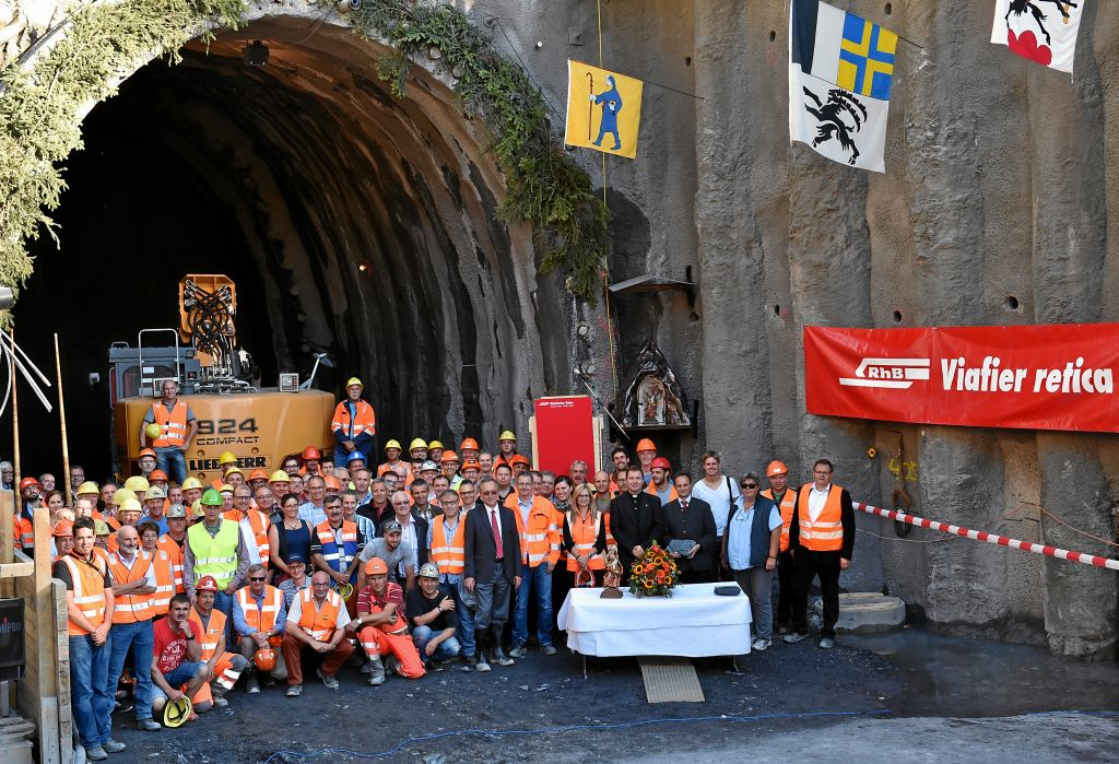 31.08.2015 - Work begins on the reconstruction of the Albula Tunnel -