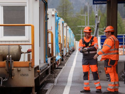 Customised transport solutions of the RhB's goods railway