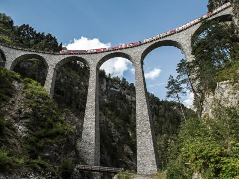 A masterpiece of railway engineering: UNESCO World Heritage RhB