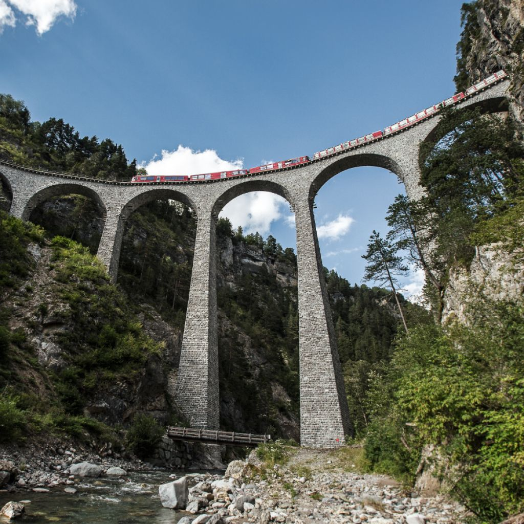 A masterpiece of railway engineering: UNESCO World Heritage RhB -